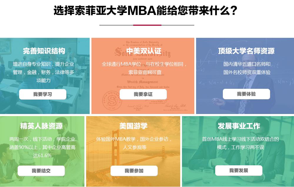 选择索菲亚大学MBA能给您带来什么?